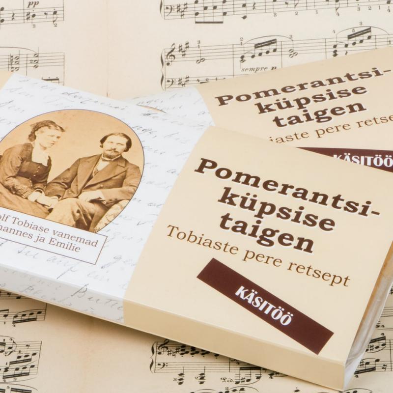 Pomerantsiküpsiste tainas müügil ka Mandri-Eesti kauplustes