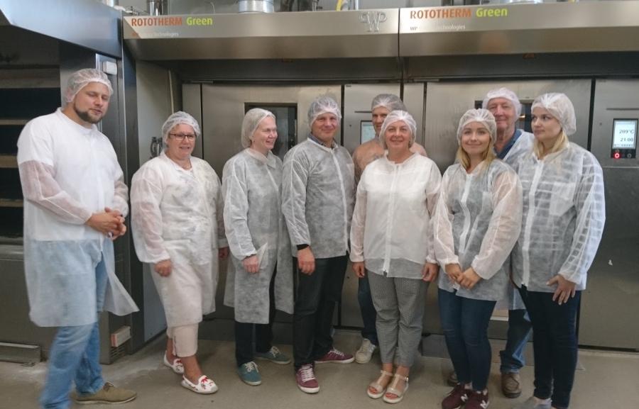 Saarte Koostöökogu juhatus külastas Hiiumaa Köök ja Pagar tootmist