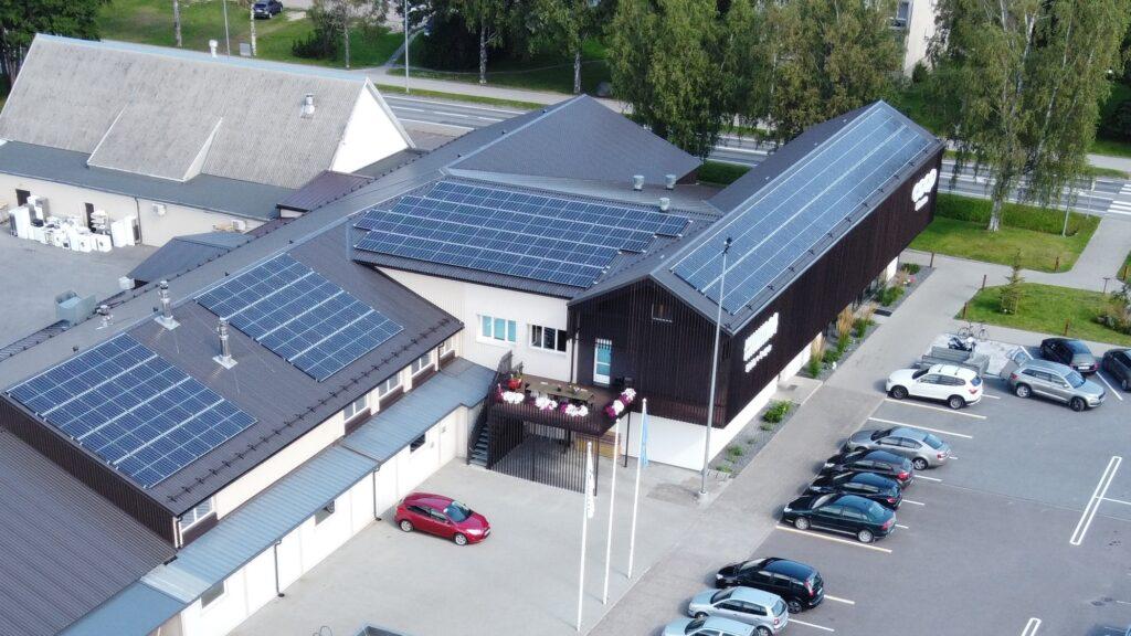 Pagaritööstuse tootmiskompleksi ning kontorihoone päikeseelektrijaam