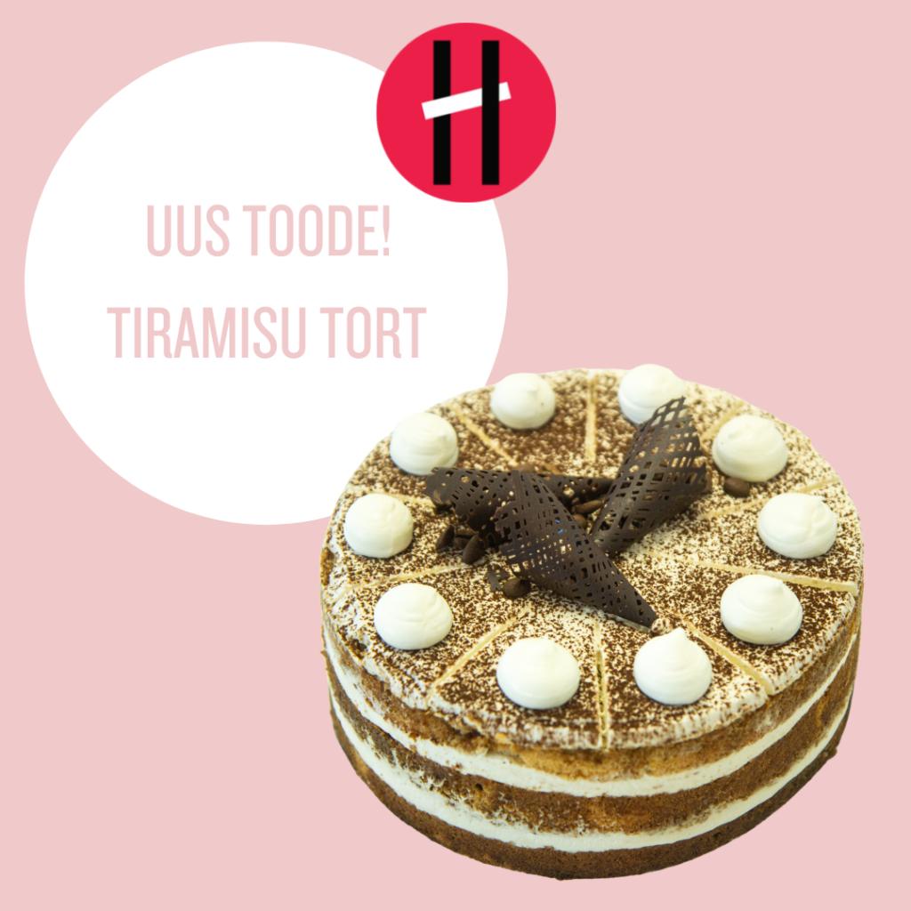 UUS TOODE! Tiramisu tort